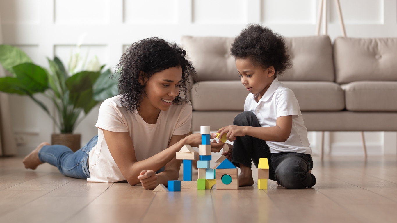 early intervention learning activities with child
